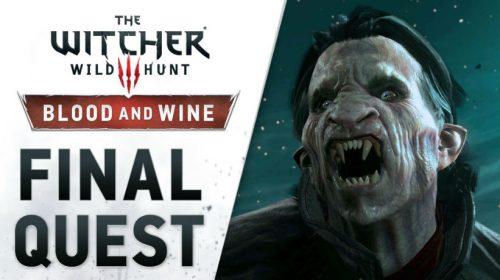Última DLC de The Witcher 3 ganha trailer de lançamento