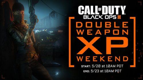 Black Ops 3 tem Double Weapon XP neste final de semana