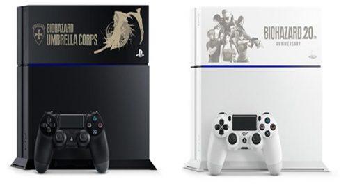 PlayStation 4 ganha edição especial de Resident Evil