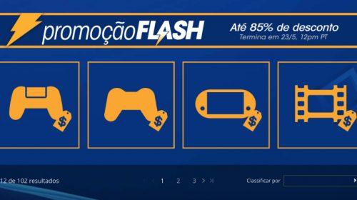 Flash Sale traz descontos de até 80%, confira