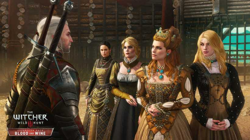 The Witcher 3: Blood and Wine - Primeiros 10 minutos de gameplay