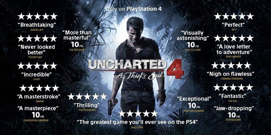 5 fatos que explicam o sucesso de Uncharted 4