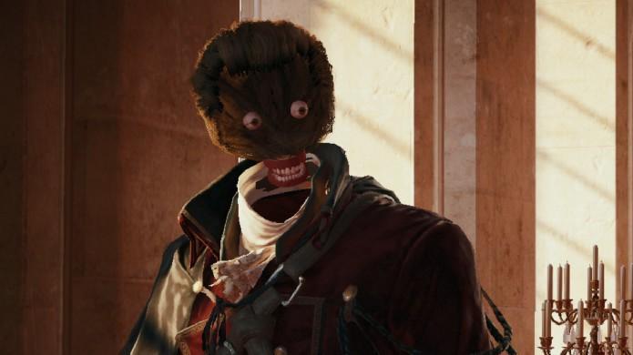 Bug do personagem sem rosto marcou Assassin's Creed Unity