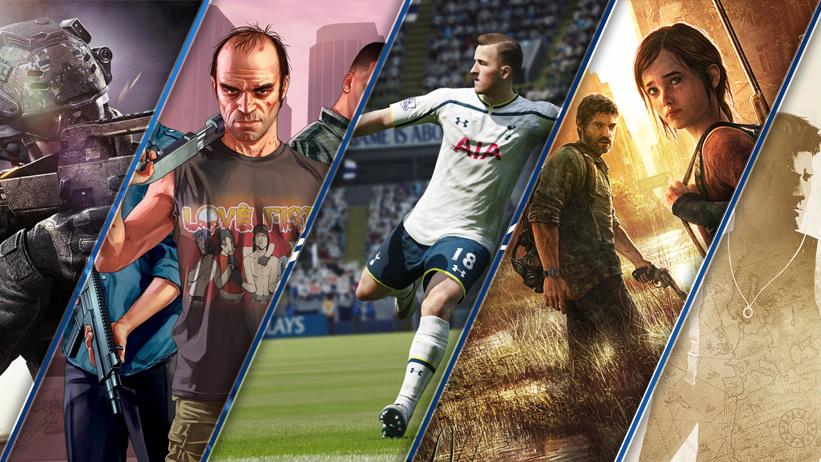 Os 10 jogos mais vendidos do PS4 até o momento