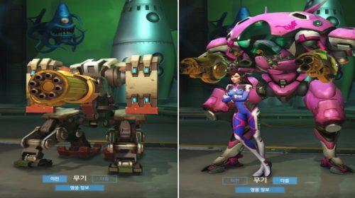 Blizzard revela armas douradas de Overwatch; confira