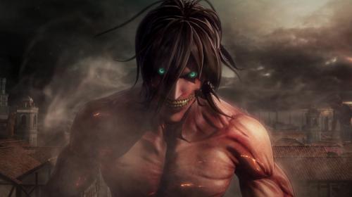 Eren titã explorado em novo gameplay de Attack On Titan