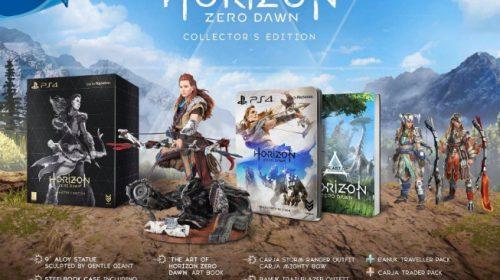 Divulgada a edição de colecionador de Horizon: Zero Dawn