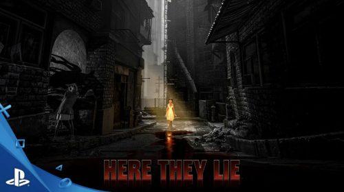 Here They Lie traz uma experiência surreal de horror ao PS4