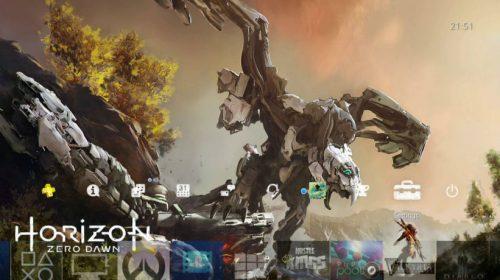Conheça: Tema 'dinâmico' de Horizon: Zero Dawn para PS4