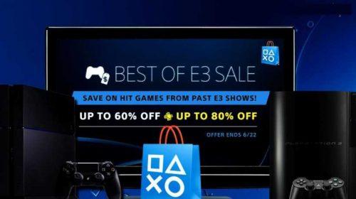 Descontos da semana estão na promoção 'Melhores da E3'
