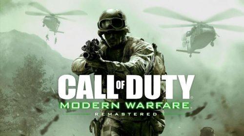 Nostalgia: novas imagens de CoD: Modern Warfare Remaster
