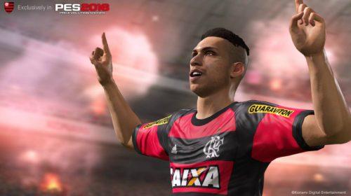 Flamengo continua como time exclusivo do PES 2017