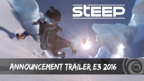 Conheça Steep, novo jogo da Ubisoft revelado na E3