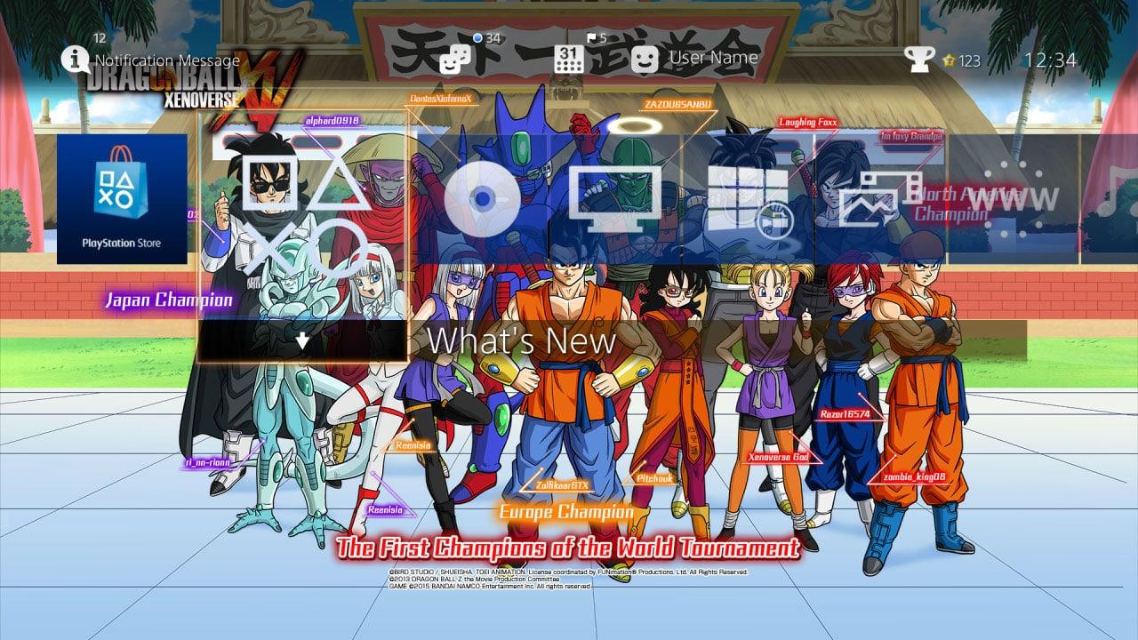 Tema gratuito de Dragon Ball