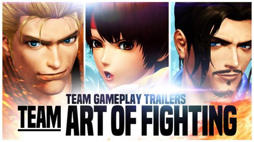 The King of Fighters XIV: Novo trailer de Team Art of Fighting