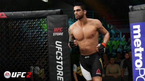 EA Sports UFC 2 ganha mais um lutador brasileiro