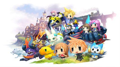 World of Final Fantasy com data de lançamento anunciada