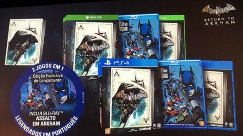 Batman: Return to Arkham acompanha filme animado; detalhes