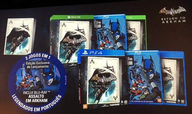 Batman: Return to Arkham terá edição especial para o Brasil