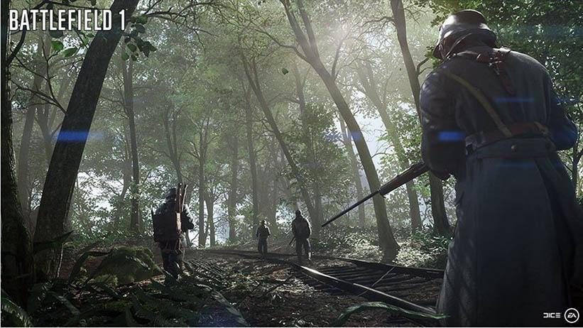 EA e DICE divulgam novas imagens de Battlefield 1