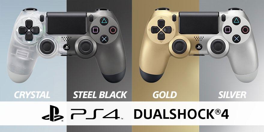 DualShock 4 Black Crystal