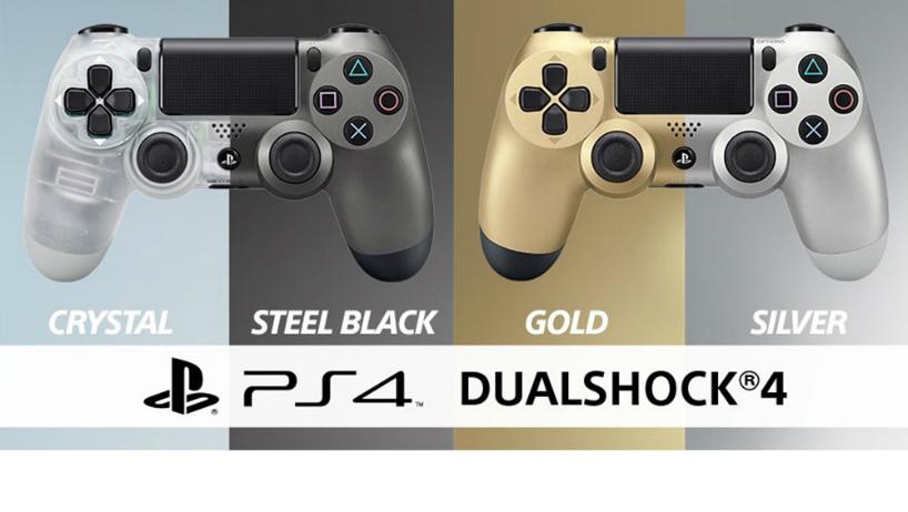 Sony apresenta as duas novas cores para o DualShock 4