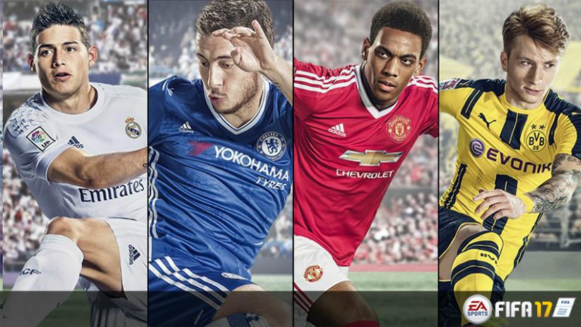 Vaza design das cartas ouro do Ultimate Team do FIFA 17