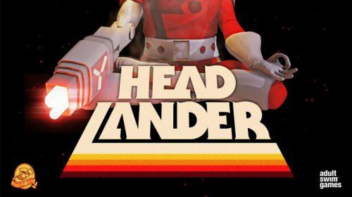 Sua cabeça no lugar em Headlander, novo título para PS4