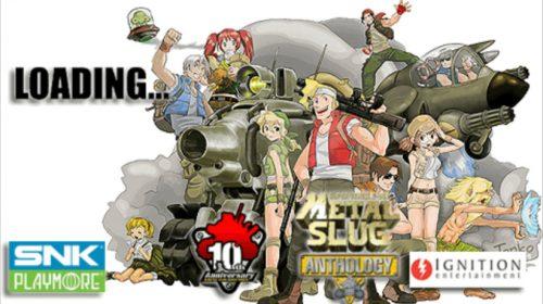 Clássico Metal Slug Anthology chegará ao PS4 em julho