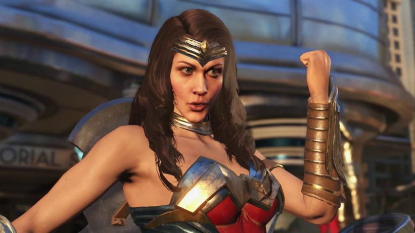 Besouro Azul e Mulher Maravilha são revelados para Injustice 2