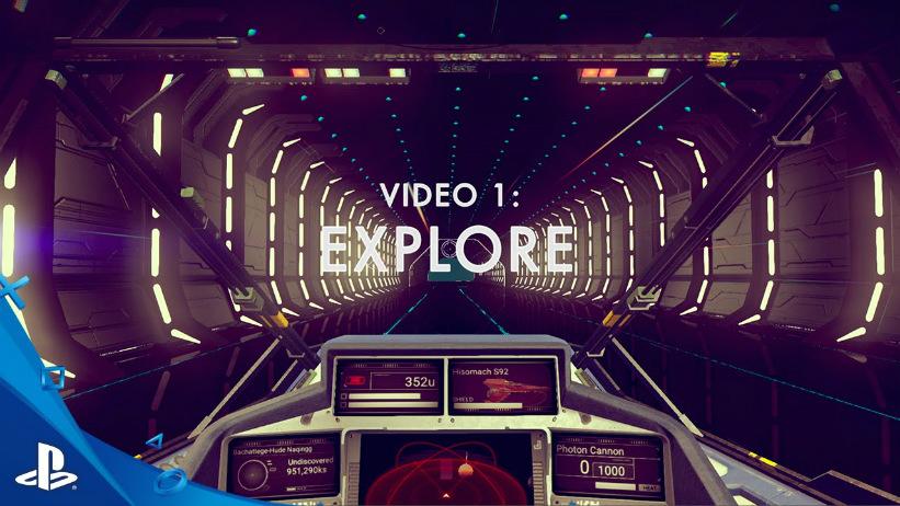 No Man's Sky: novo vídeo explica exploração do jogo