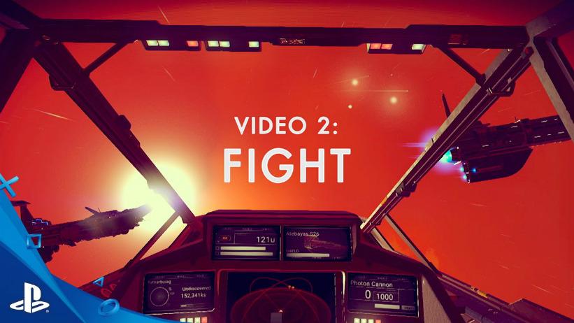 Novo trailer de No Man's Sky mostra combates intensos