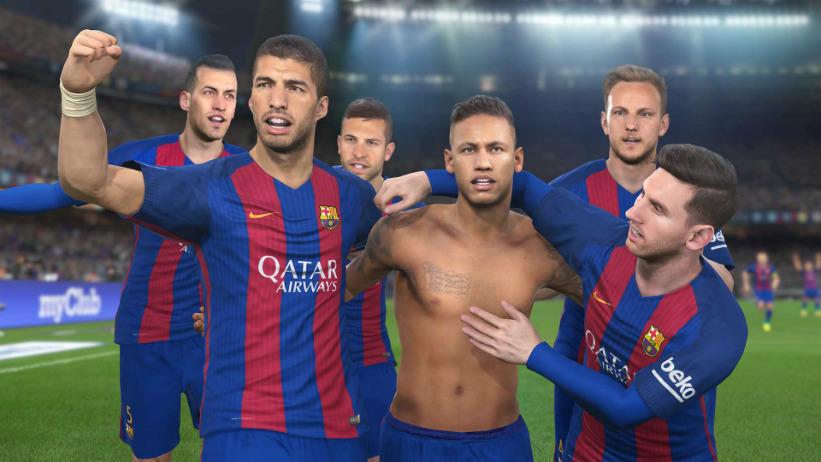PES 2017 anuncia parceria oficial com o Barcelona