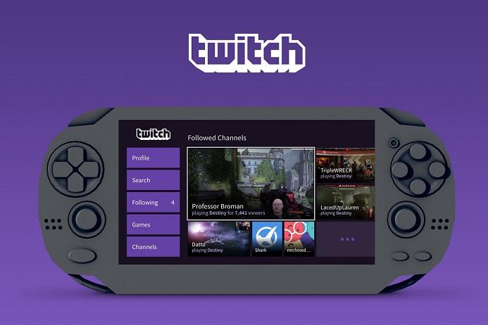 Aplicativo da Twitch chega ao PS Vita
