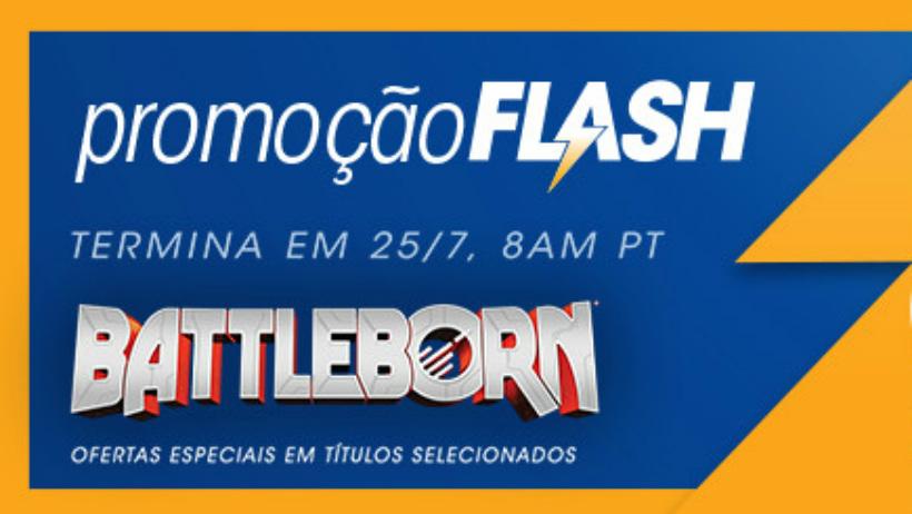 Sony anuncia Flash Sale dedicada ao jogo Battleborn