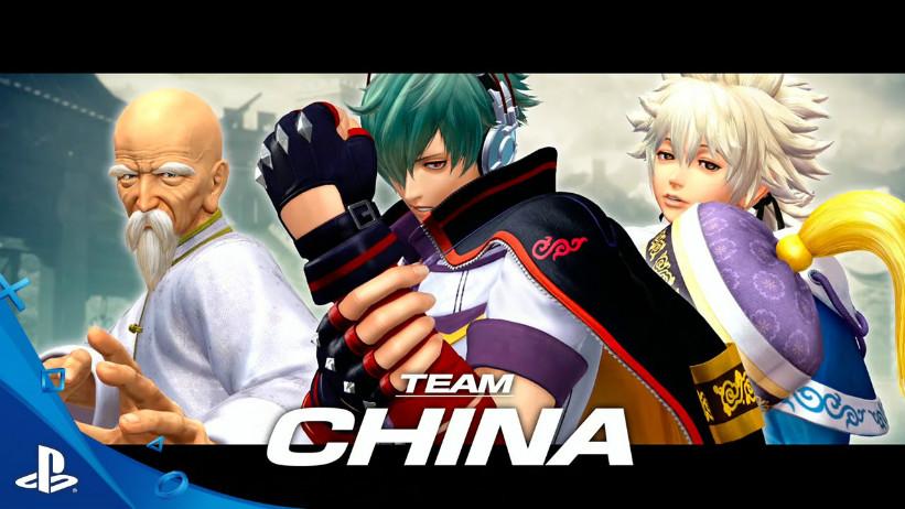 KoF XIV: Equipe da China é apresentada em novo trailer