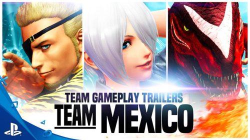 The King of Fighters XIV: Novo trailer apresenta Team Mexico