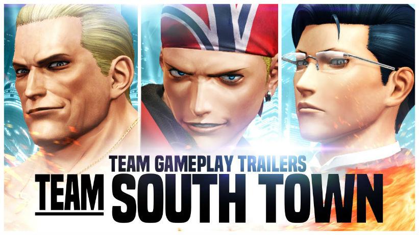 Team South Town em ação no The King of Fighters XIV