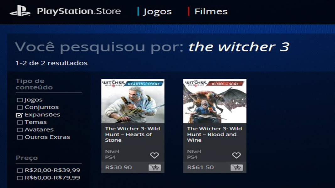 The Witcher 3 - Expansões