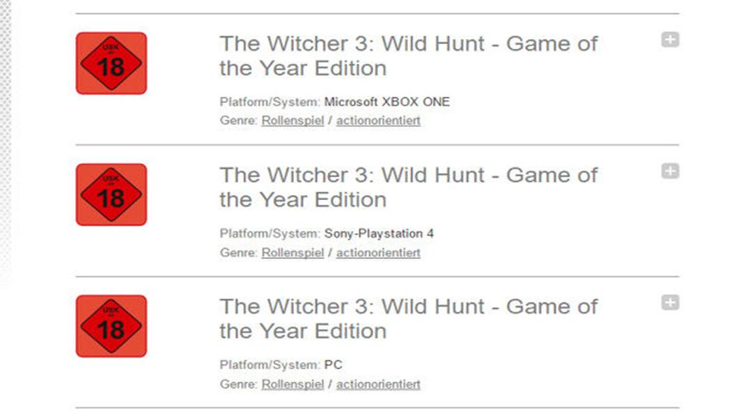 The Witcher 3 - GOTY