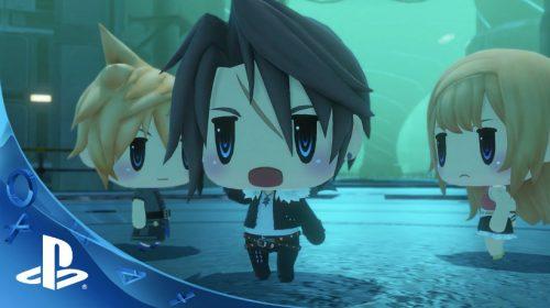 Canção tema de World of Final Fantasy é uma fofura