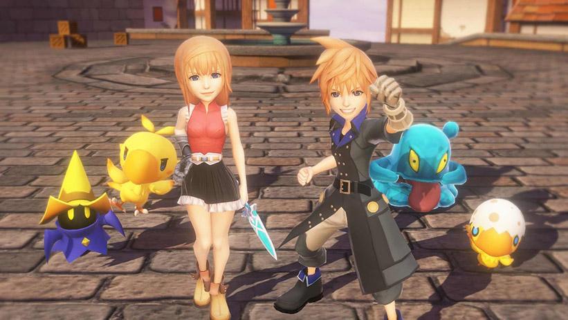 World of Final Fantasy ganha novo trailer