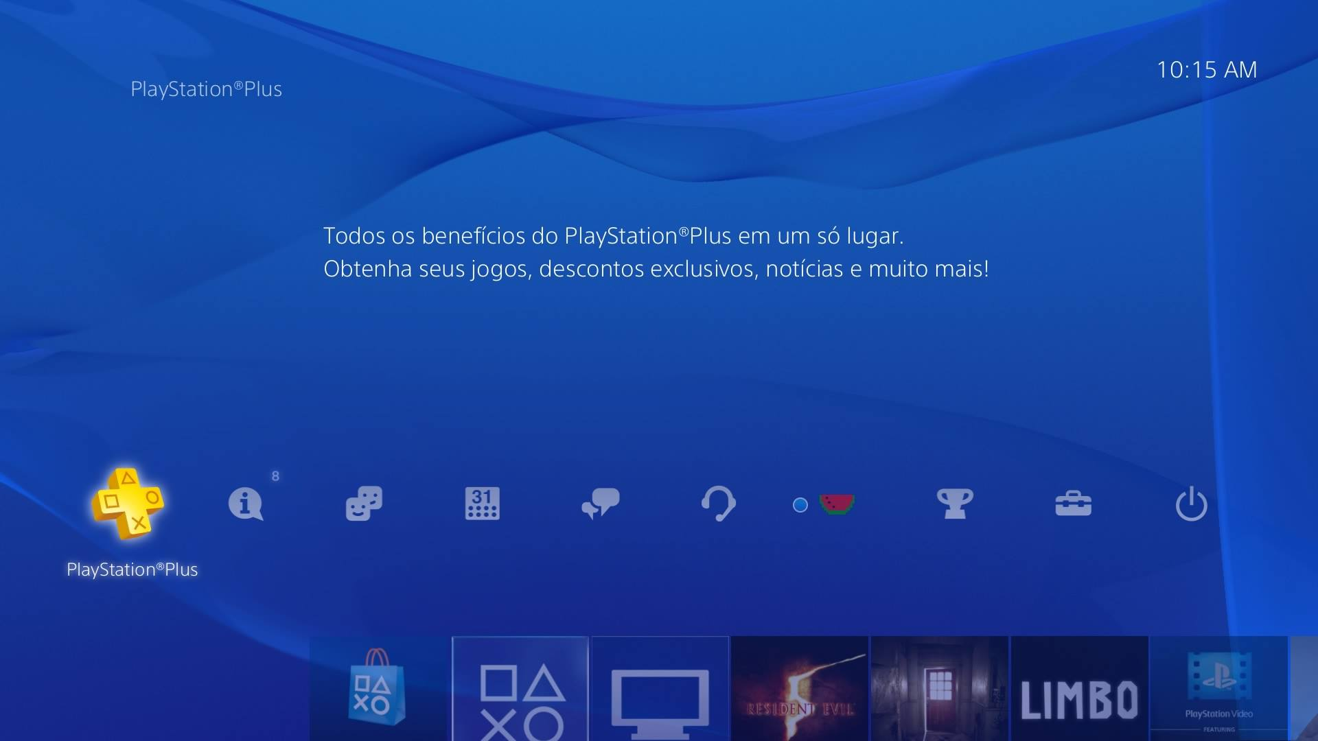 ícone ps plus