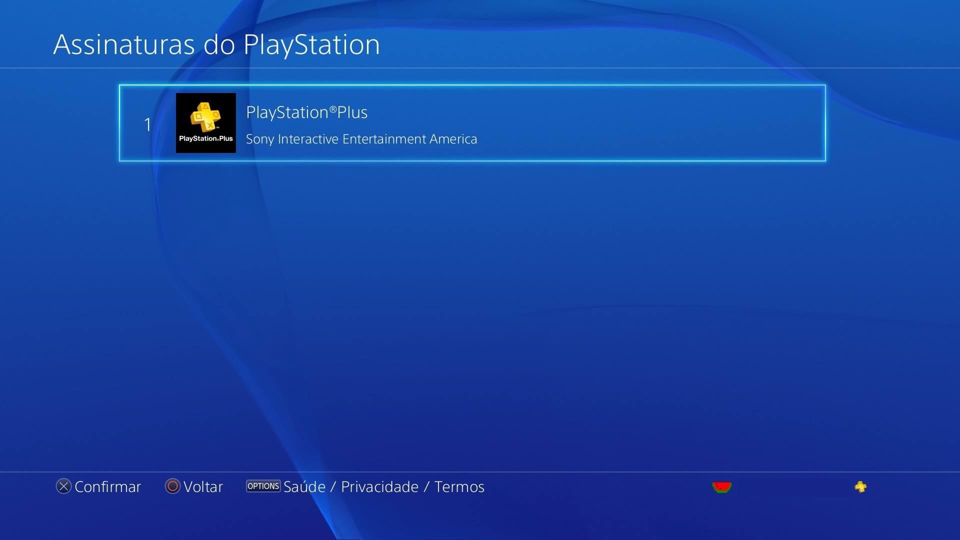 Assinaturas do PlayStation