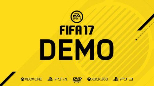 DEMO do FIFA 17 já está disponível; veja como baixar