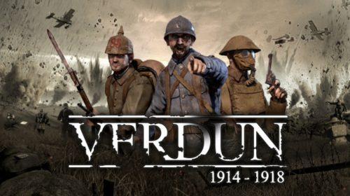 Verdun, FPS na I Guerra Mundial, chega ao PS4 no dia 30
