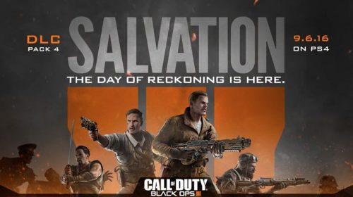 Salvation é a nova DLC de Call of Duty Black Ops III
