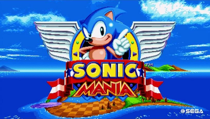 Nostalgia em alta! Confira o novo gameplay de Sonic Mania