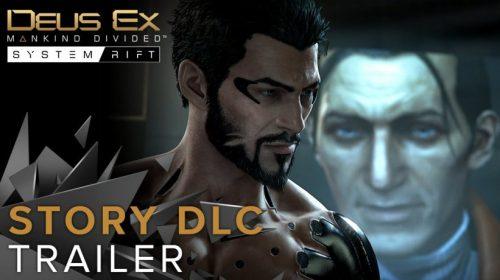 Deus Ex: Mankind Divided recebe hoje seu primeiro DLC de história