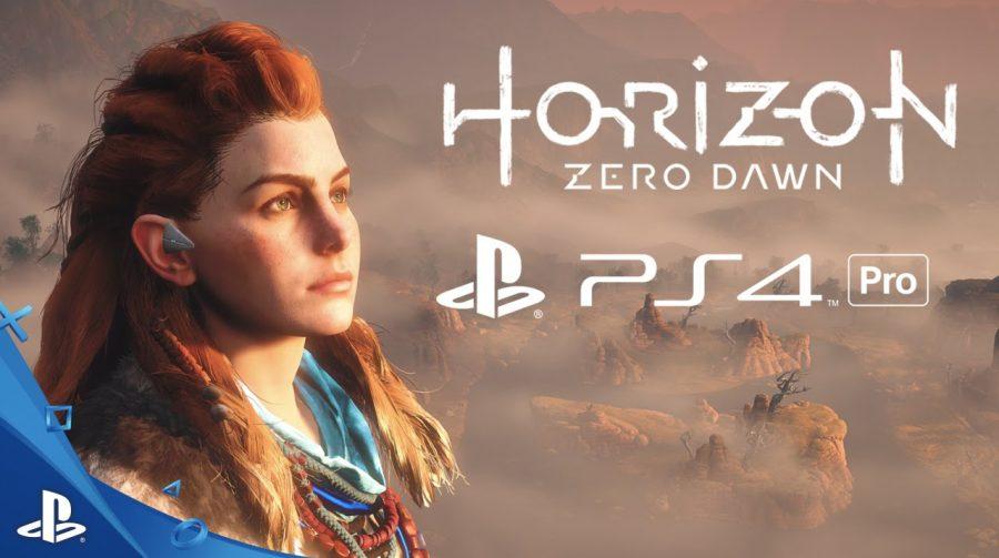 Trailer espetacular de Horizon Zero Dawn rodando no novo PS4 Pro